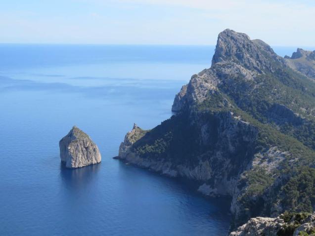 Towards Cap de Formentor