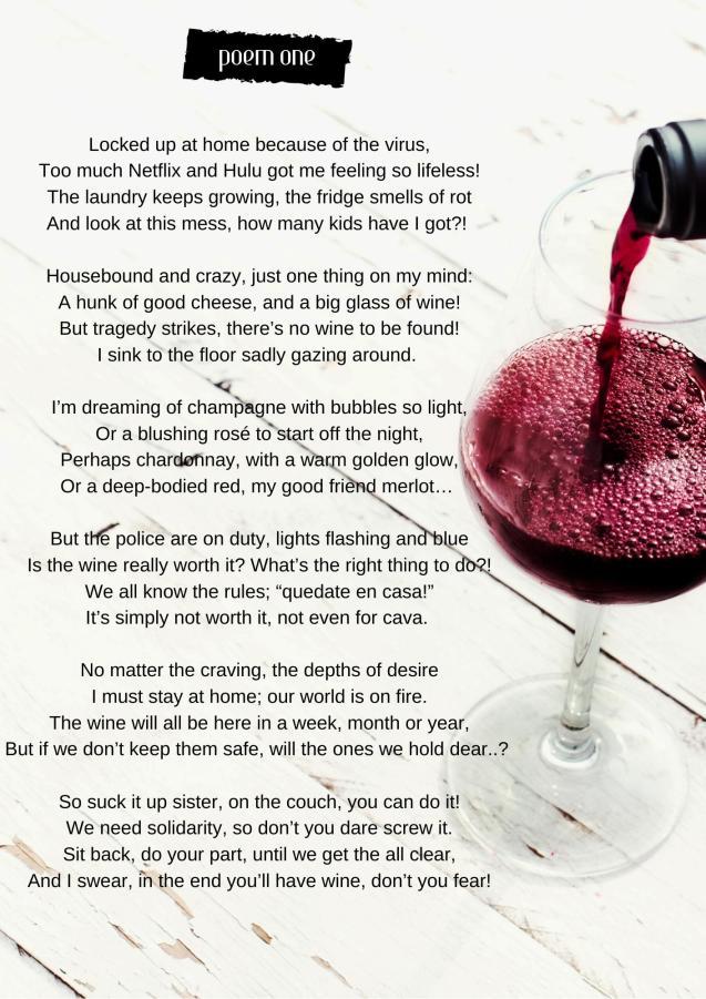A wonderful poem by Jessica Tatam
