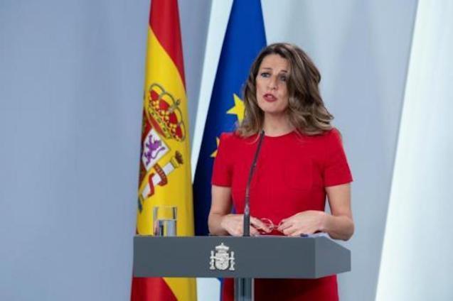 Yolanda Díaz, Labour Minister