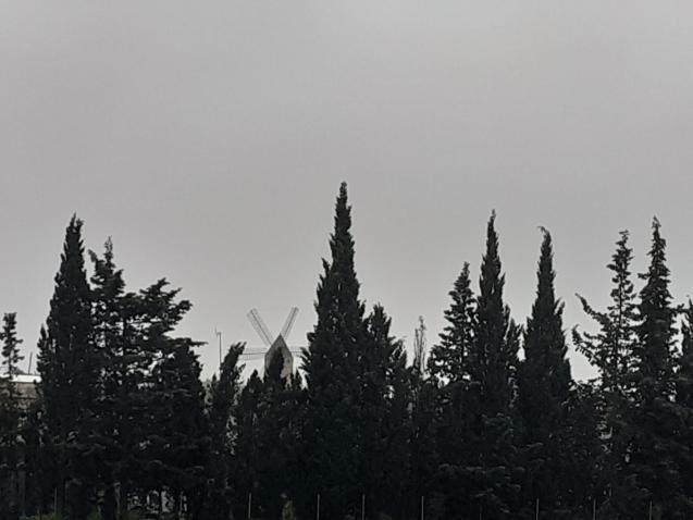 Grey views across the island