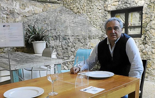 Alfonso Robledo, President of Restauración Mallorca.