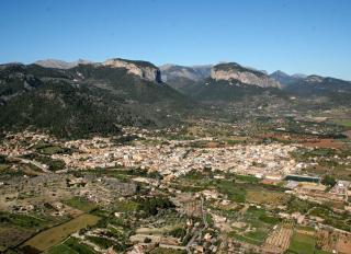 Birds-eye view of Majorca