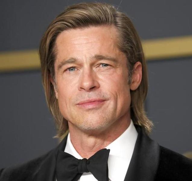 Brad Pitt at the 92nd Academy Awards in Hollywood, Los Angeles.