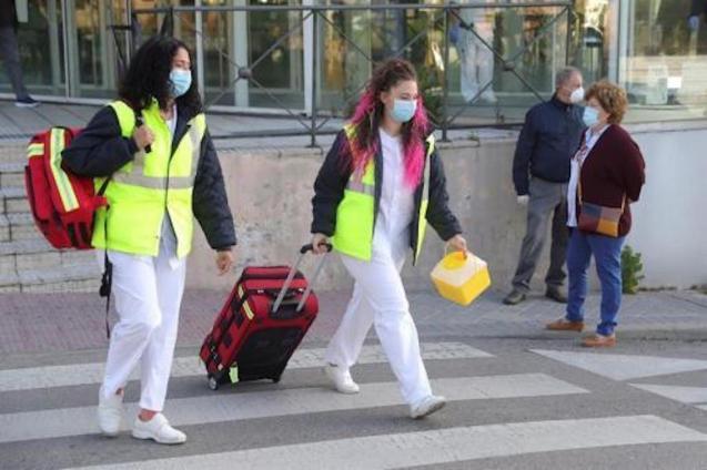 Sharp fall in coronvirus deaths in Spain.