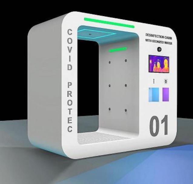 Cut & Go Disinfection Cabin