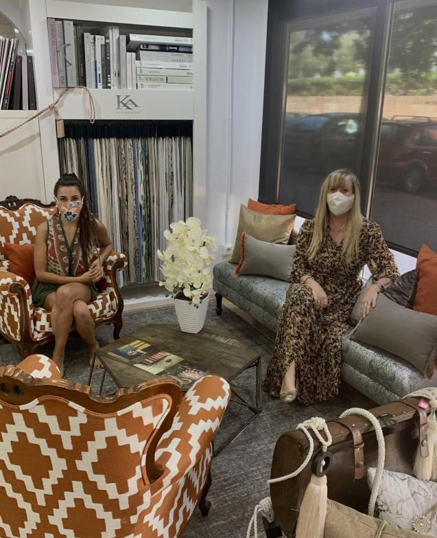 Danielle and Jacqueline from I Love Fabrics