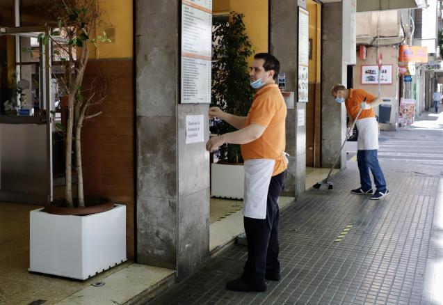 Bar and restaurants in Palma