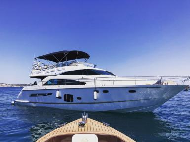 Fairline for charter with Boat Charter Mallorca.