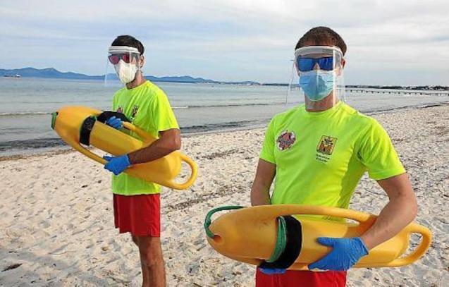 New coronavirus training for Lifeguards.