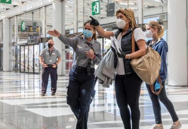 Spain introduces quarantine for foreign travellers.