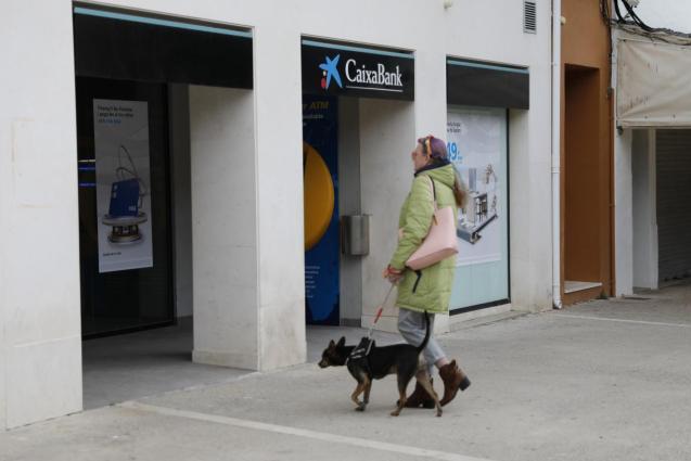 A person at CaixaBank