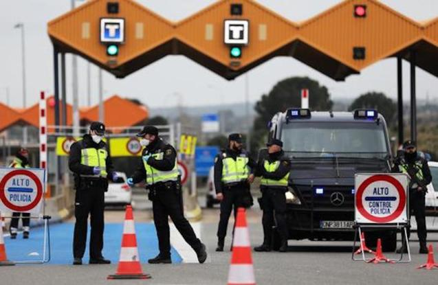 Spain's borders will remain closed until July.