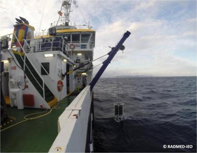 Deep water study of the western Mediterranean.