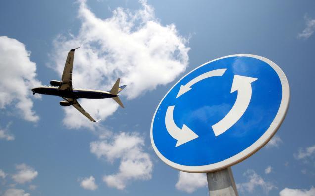 Air travel during lockdown