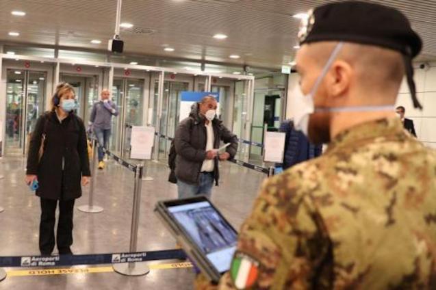 Fiumicino Airport, Rome