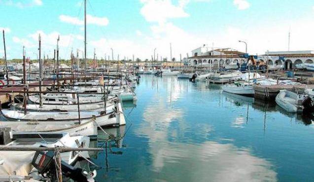 Puerto de la Colònia Sant Jordi.