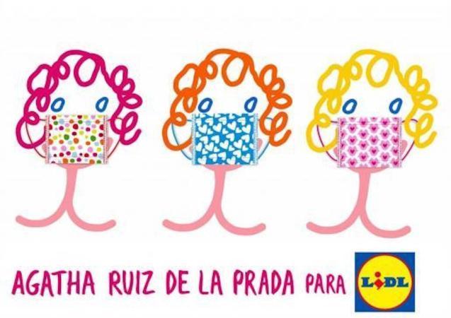 Lidl & Spanish Designer launch new face mask range.
