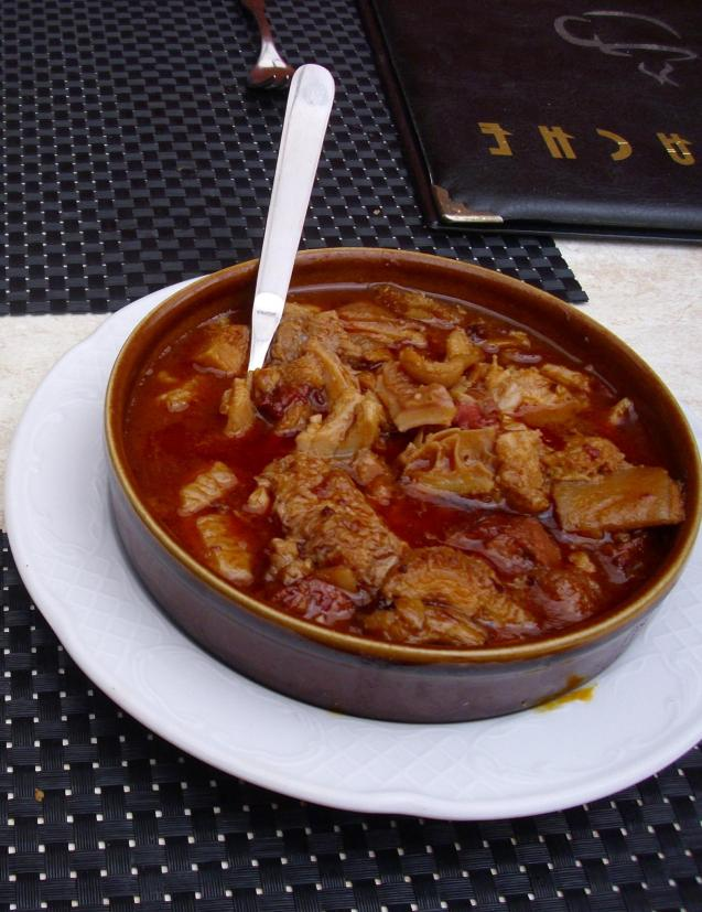 Catalonian fricandó consists of thin slices of veal sautéed in olive oil and braised.