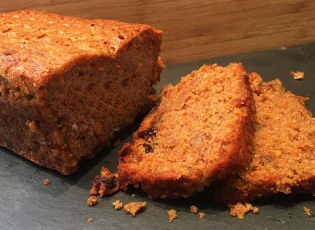 Carrof, fruit and nut loaf!