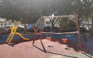 Playground in Plaza Progreso, Palma.