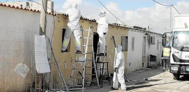 Phase 2 of Son Banya demolition has begun.
