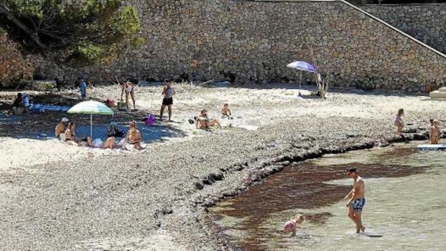 Playa de Sant Elm, Majorca.