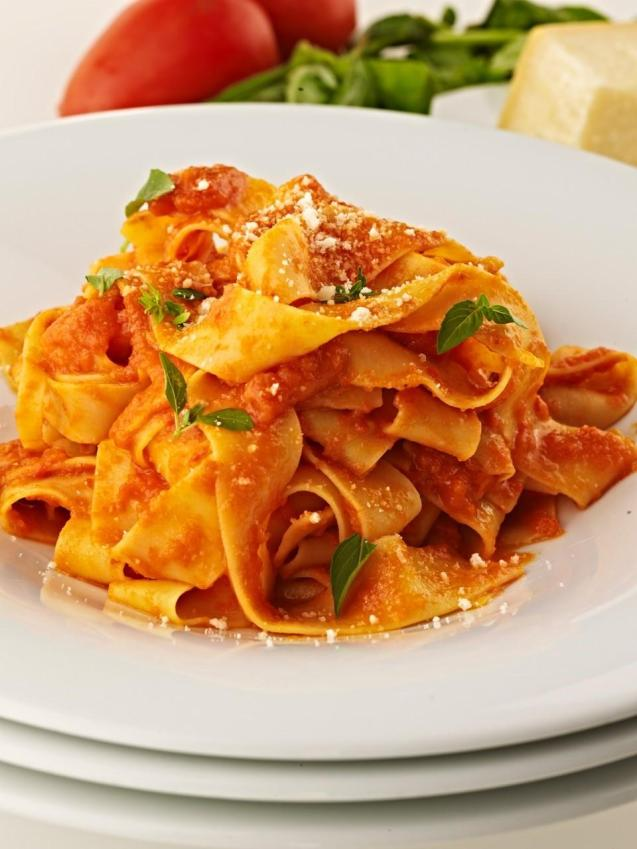 Once you have your fresh pasta cooked, its time to get creative again with a few delicious sauces