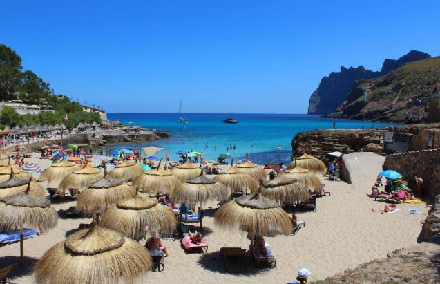 Beach in Majorca.
