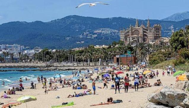 Playa de Can Pere Antoni, Palma.