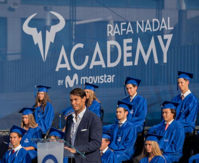 Rafa Nadal's speach during last year's graduation