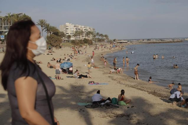 More than 40,000 visitors left Majorca during lockdown.