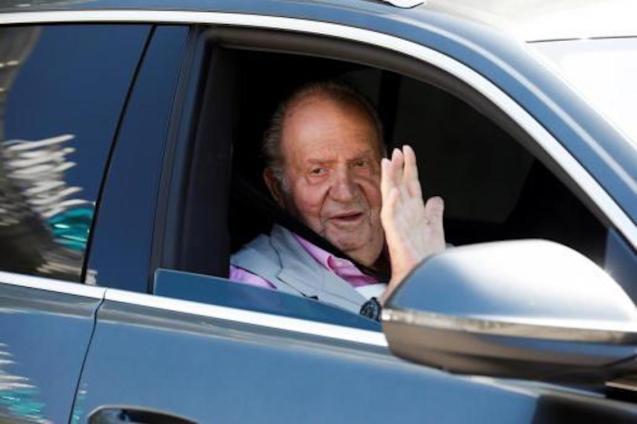 Juan Carlos de Borbón, former King of Spain.