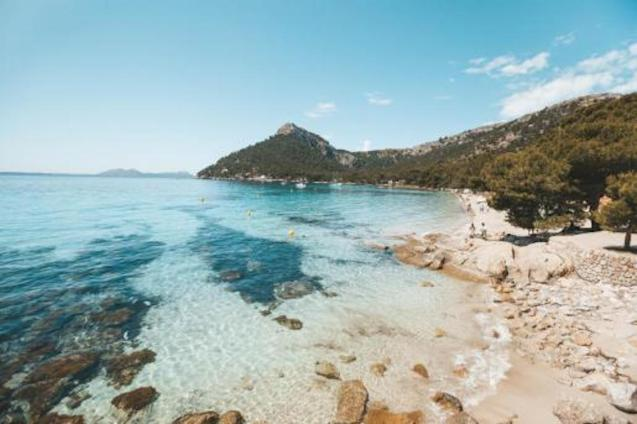 Water quality in Mallorca good enough to swim in.