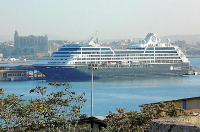 An increasing number of Cruise Ships are docking in Palma.