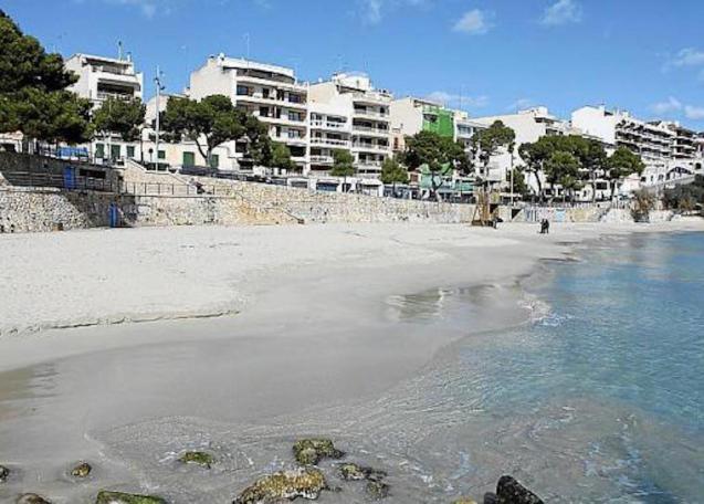Playa de Porto Cristo, Majorca.