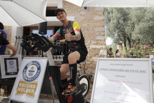Ben Miles sets new World Record.