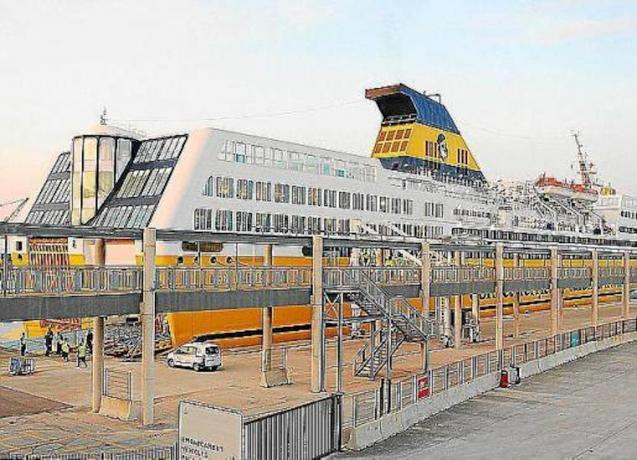 The ferry to France will be up and running next month.