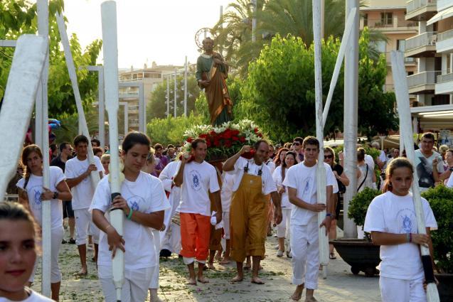 No procession in Puerto Alcudia