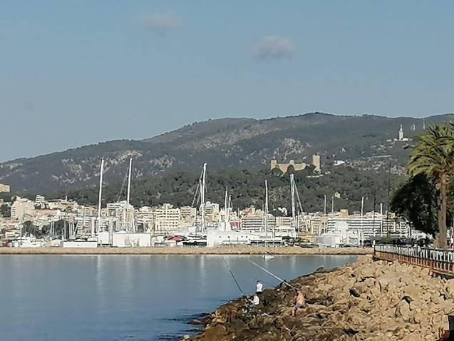 Palma Bay & Bellver Castle.