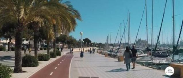 Bike lane and pedestrian area of the Paseo Marítimo to be widened.