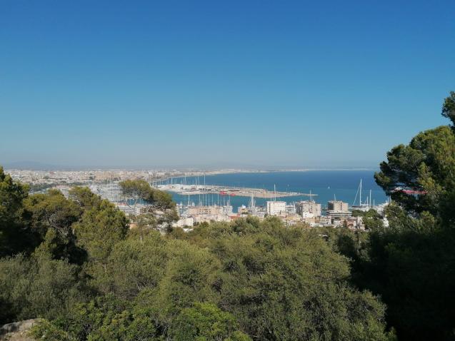 Palma Bay, Majorca.