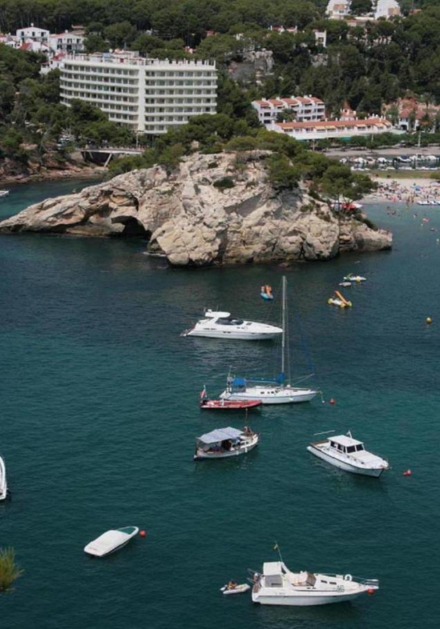 Nautical tourism in the Balearics.
