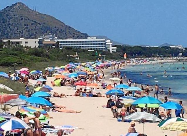 Playa de Muro, Majorca.