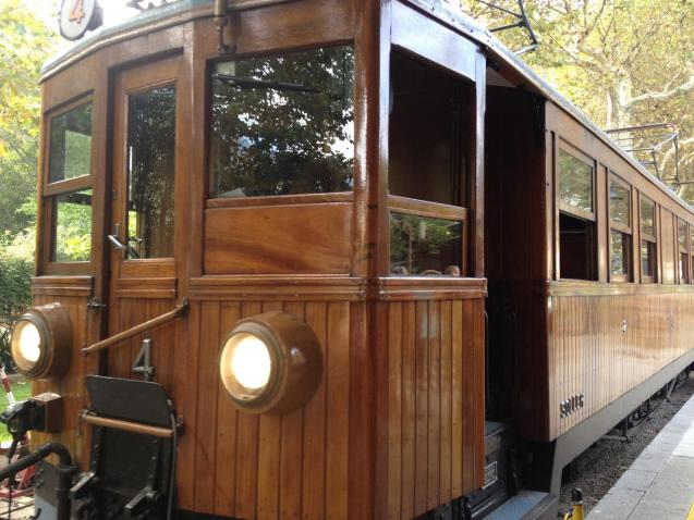 Vintage Soller Train.