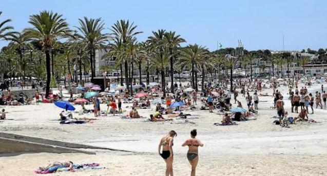 Playa del Arenal, Majorca.