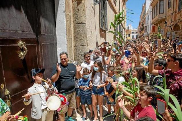 Sant Joan celebrations in Ciutadella, Minorca.