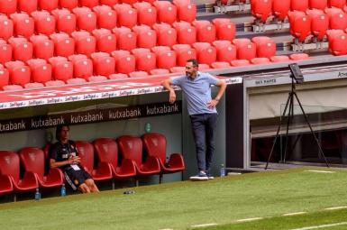Coach Moreno faces an uphill task keeping Mallorca in La Liga.