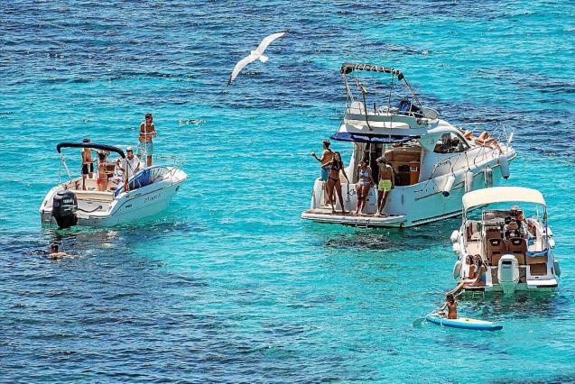 Playa de Es Geperut, Sant Elm, Majorca