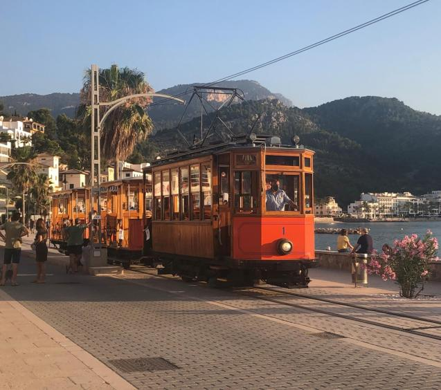 The Soller tram.