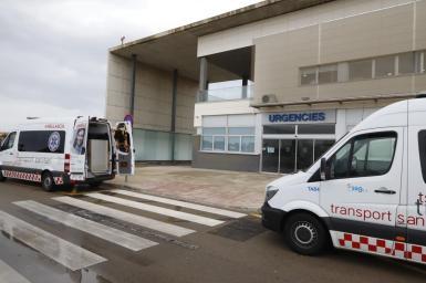 Emergencies at the Mateu Orfila Hospital.